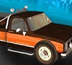Pickup Truck City Driving Sim