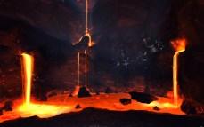 Caverna de lava no BG Mina de Diamante