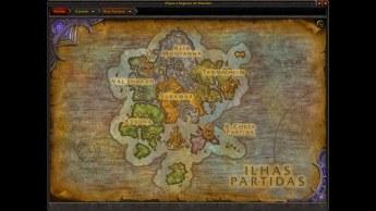 Mapa das Ilhas Partidas