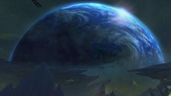 Azeroth vista de Argus