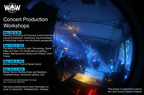 concert production workshops advanced