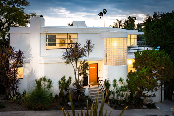 1930s William Kesling Art Deco Ulm House In Los Angeles California Usa Wowhaus