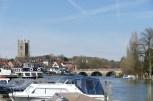 Zurück nach England: die hübsche Stadt Henley-on-Thames