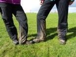 Für solche Gatschbeine reicht manchmal schon ein kurzer Spaziergang aus.