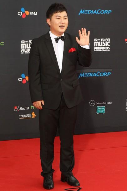 Foto Huh Gak di Red Carpet Mnet Asian Music Awards 2011