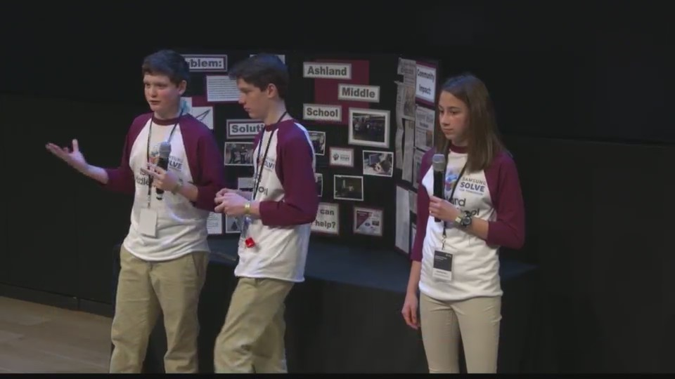"""Ashland students win national """"Solve for Tomorrow"""" competition"""