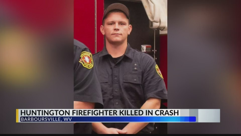 Huntington Firefighter Dies After Crash