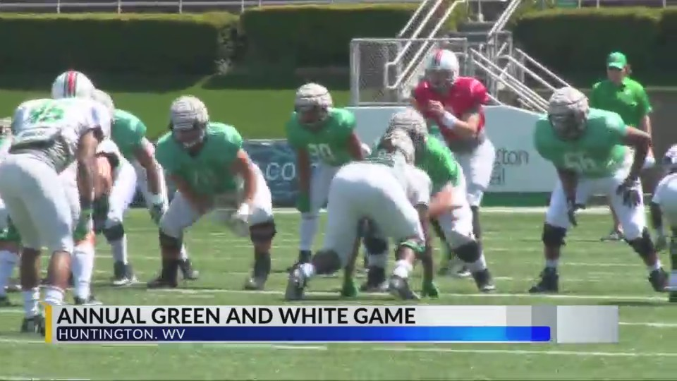 Marshall's Quarterbacks On Display at Spring Game