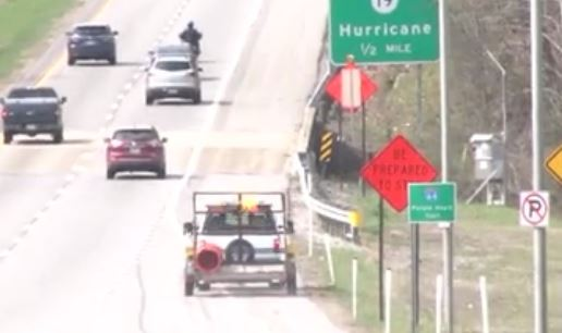 I-64 road work set to get started Monday.