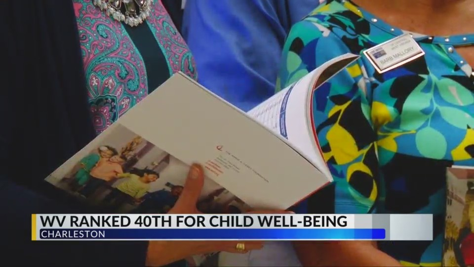 WV Ranked 40th for Child Well-Being