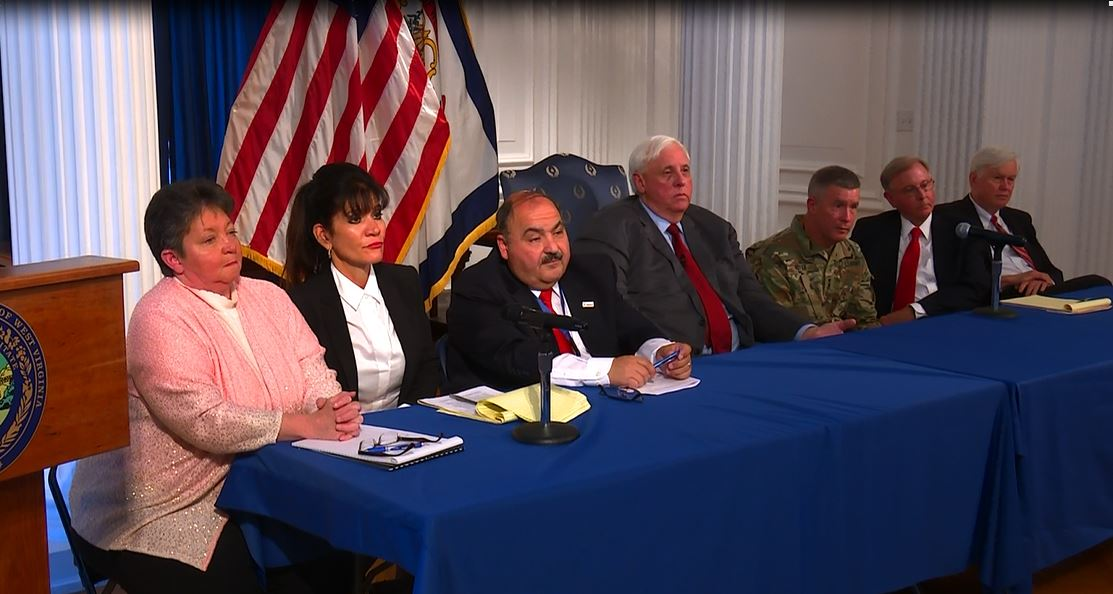 Governor Justice announces changes to RISE WV.