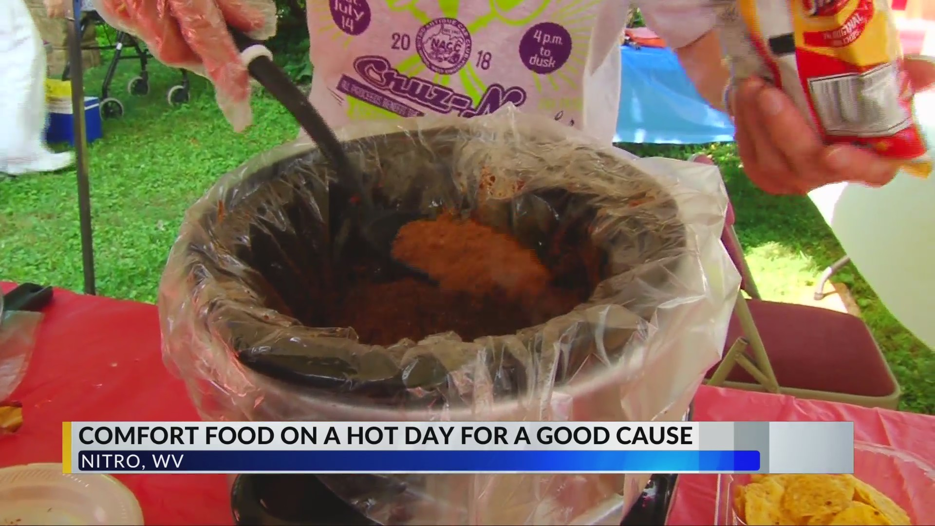 7th Taste of Nitro Cooking Up Comfort Food For Good Cause