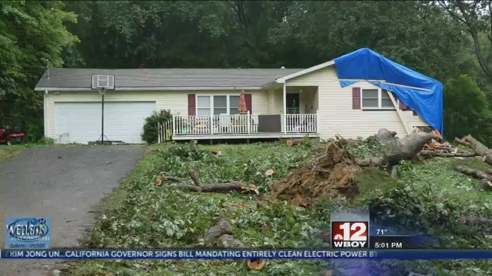 UPDATE: Monongalia County school teacher killed by tree falling on home