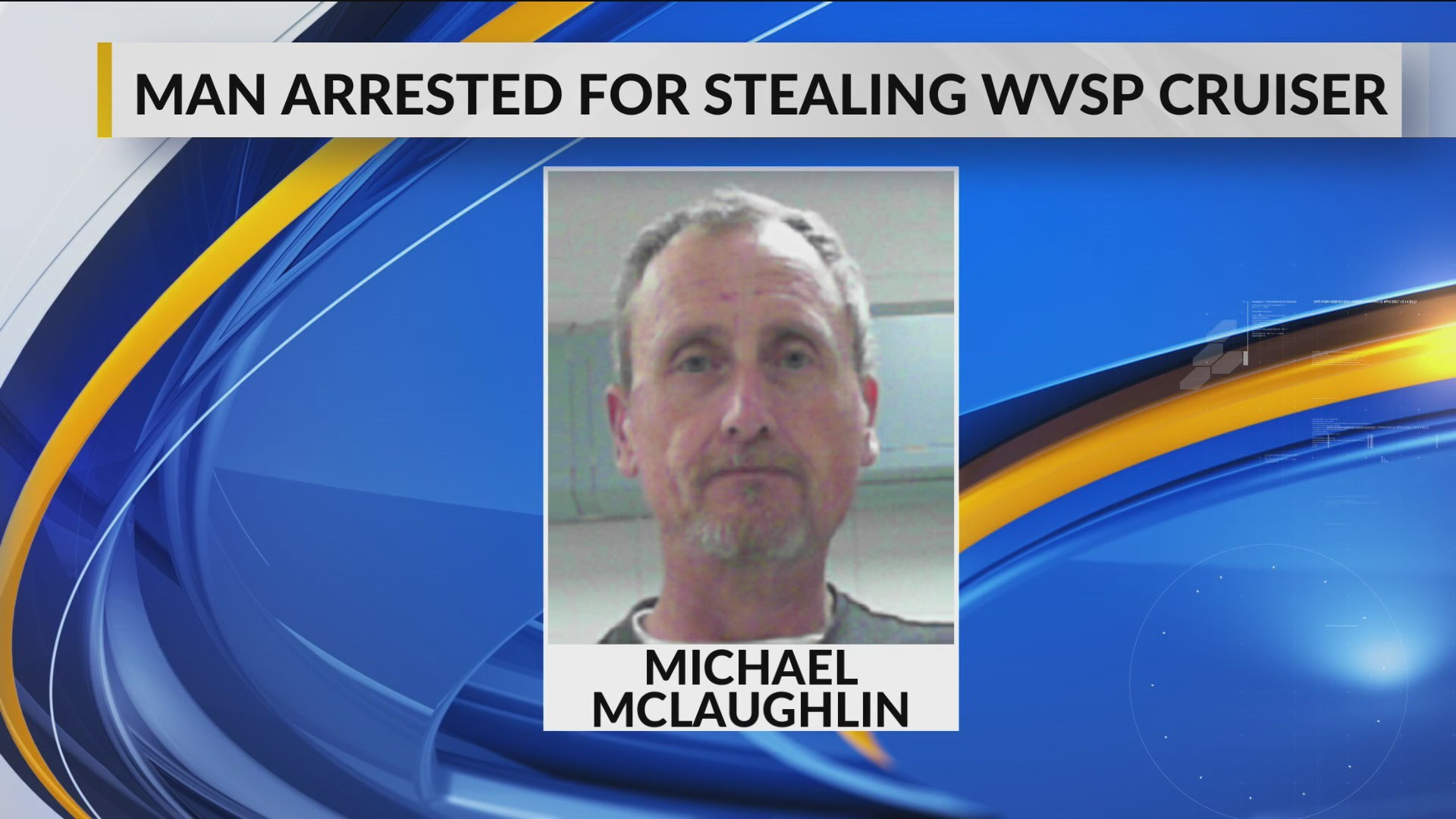 Man Arrested for Stealing West Virginia State Police Cruiser