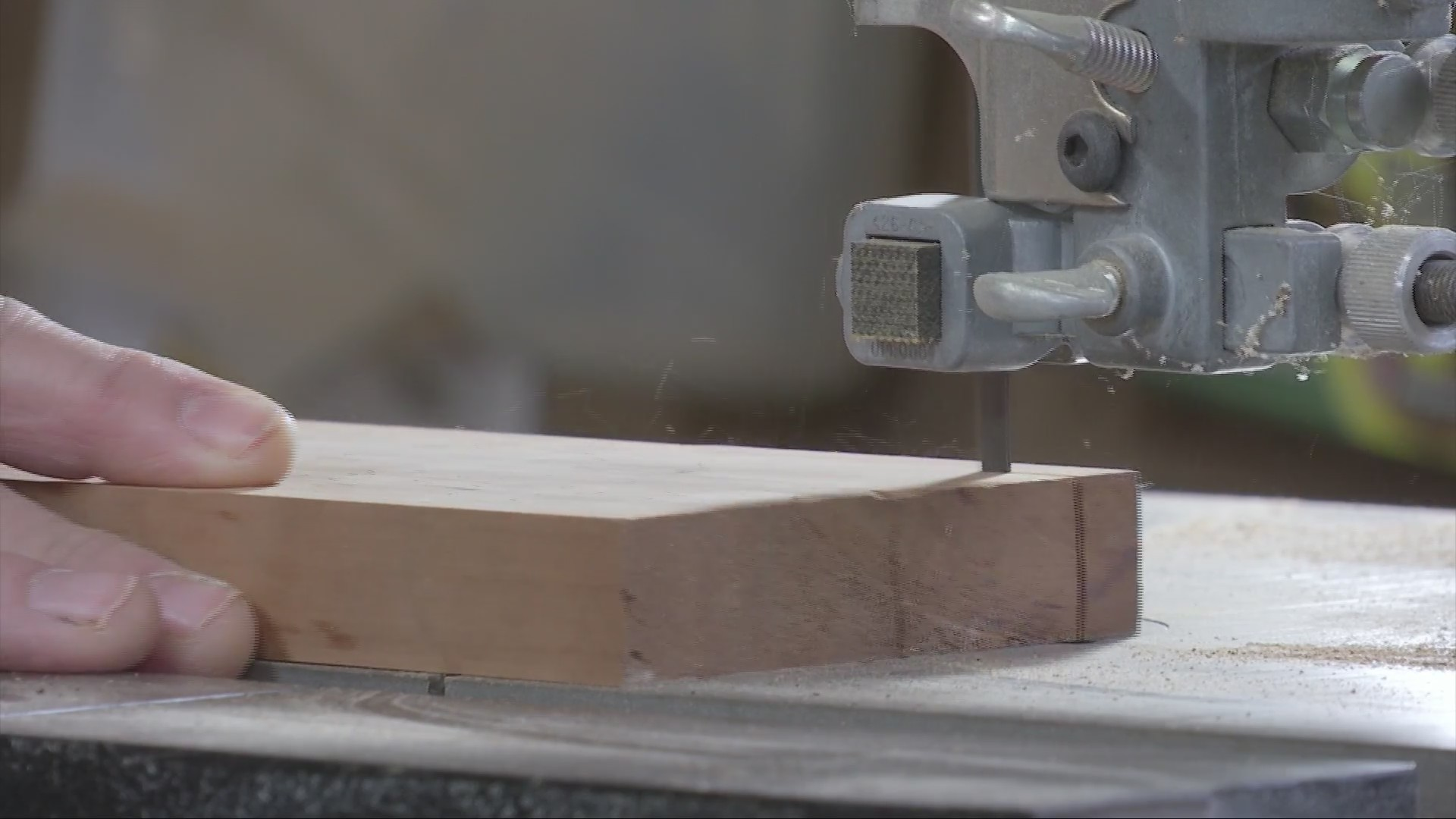 Local woodworker takes his craftsmanship to next level, TV