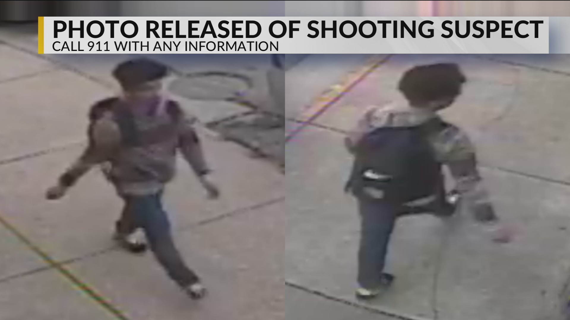 Charleston Police Release Photos of Iowa Street Shooting Suspect