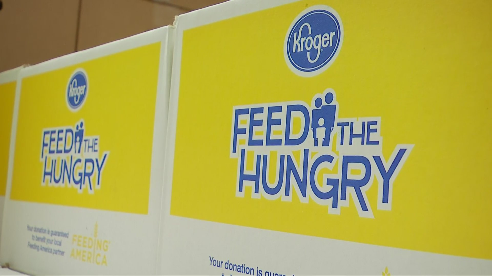 Food Bank in Huntington Helps Government Employees