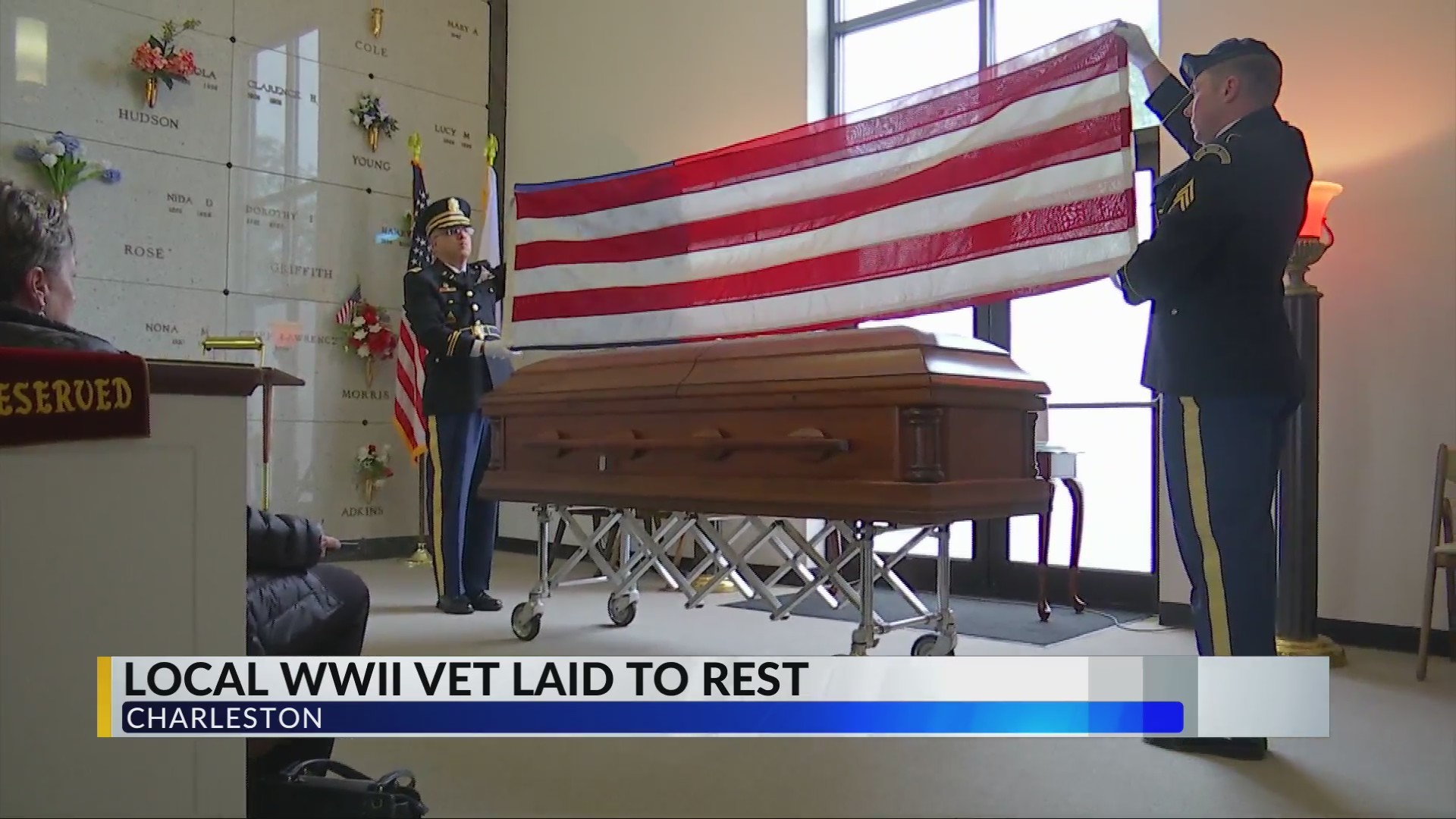 Local WWII Veteran Missing for 75 Years Laid to Rest