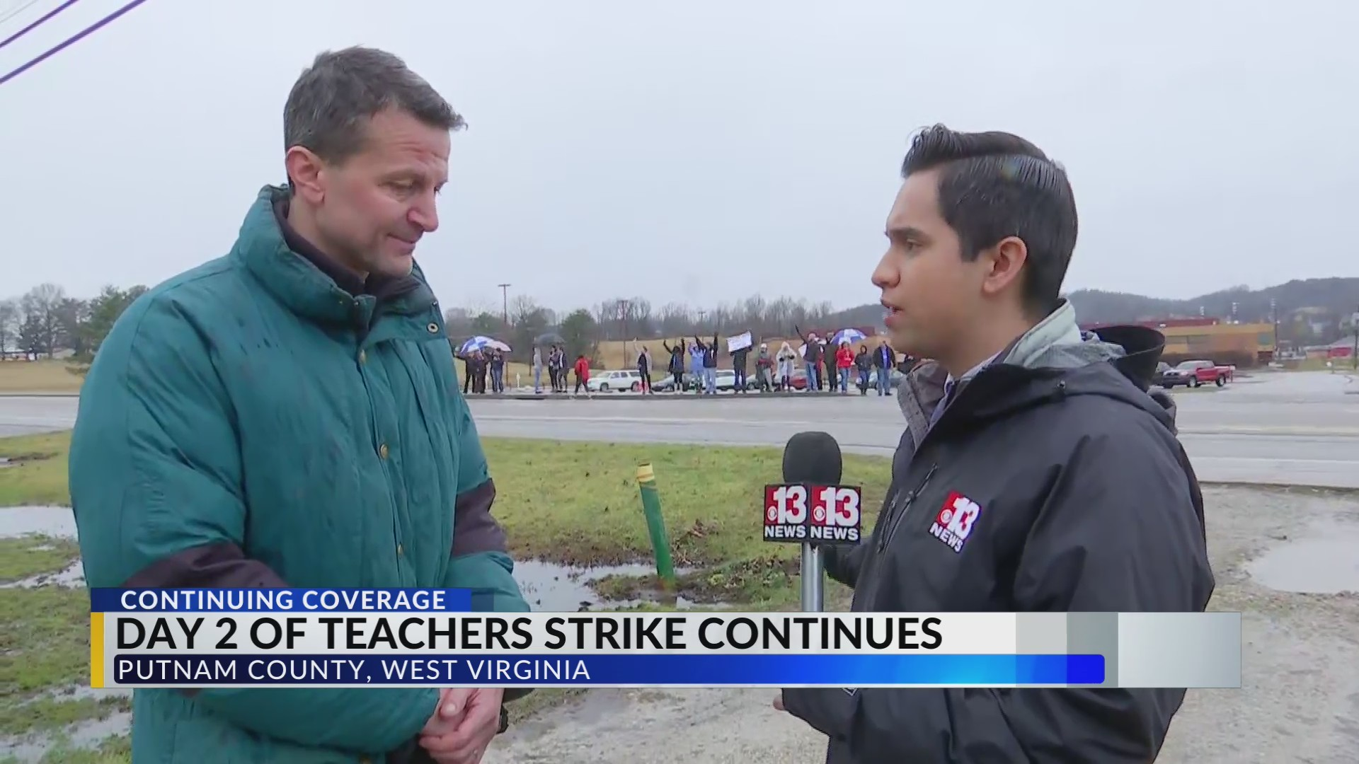 Putnam County Schools stay open, teachers continue to strike