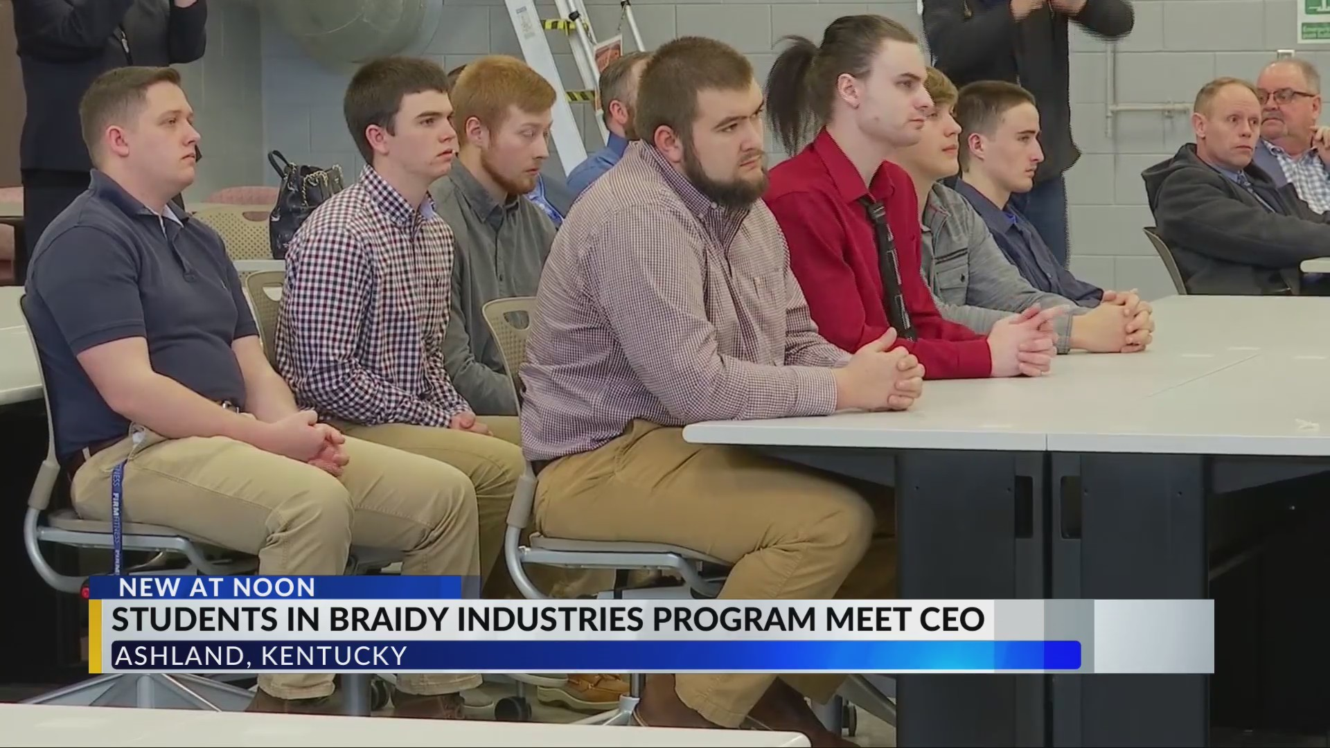 Students in Braidy Industries Program Meet With CEO, Look Forward To Jobs