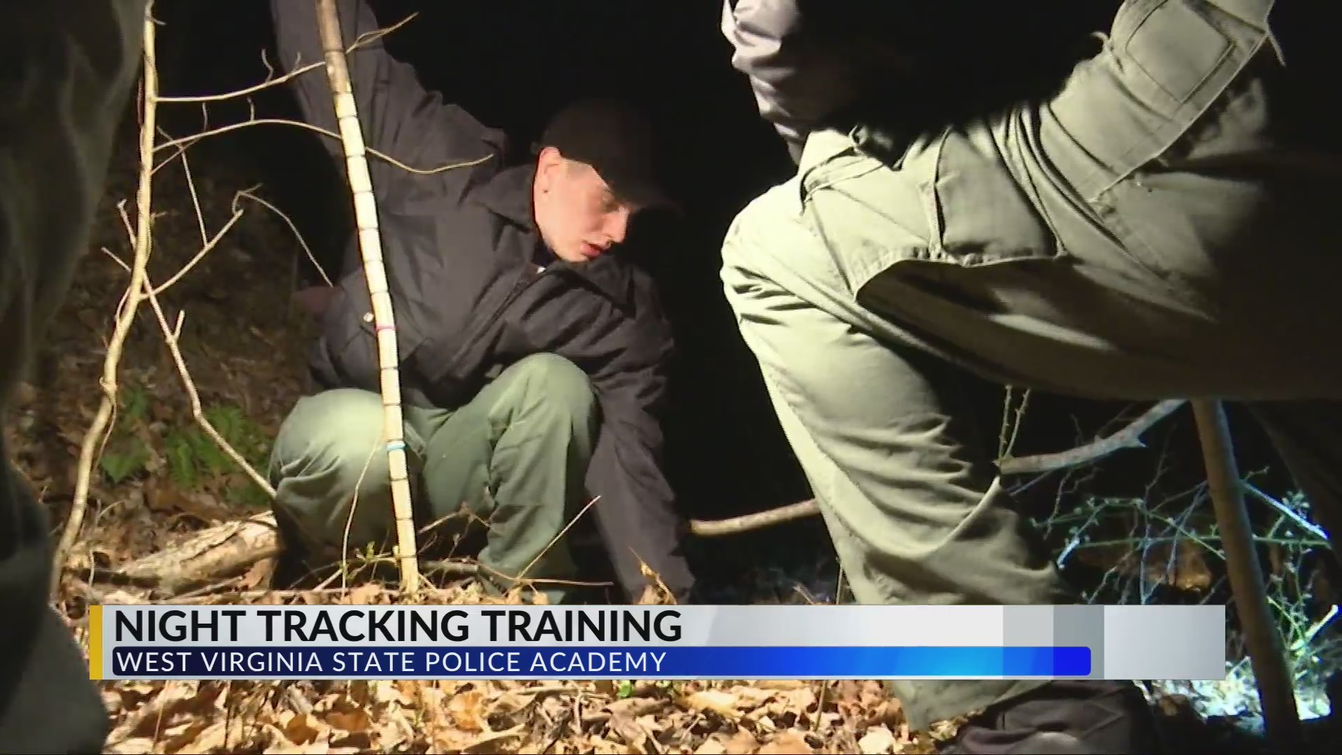 WVSP Academy Cadets Complete Night Tracking Training