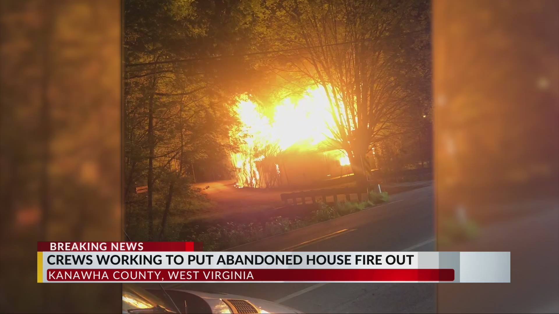 Crews Battle House Fire in Kanawha County