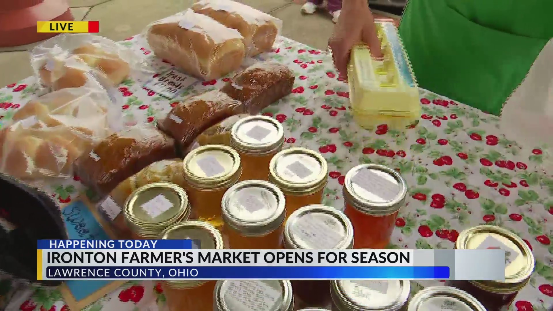Ironton Farmers' Market back in business