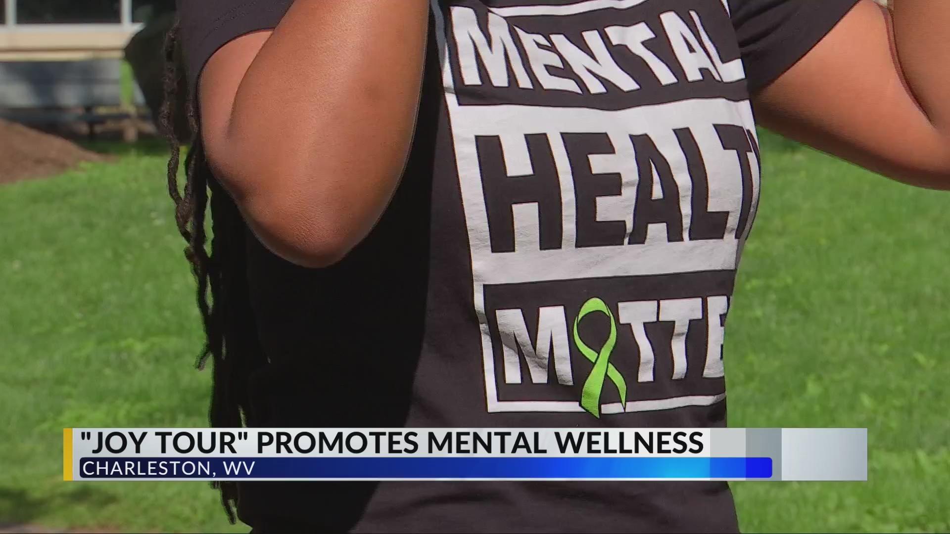 """""""Joy Tour"""" Promotes Mental Wellness in Mountain State"""