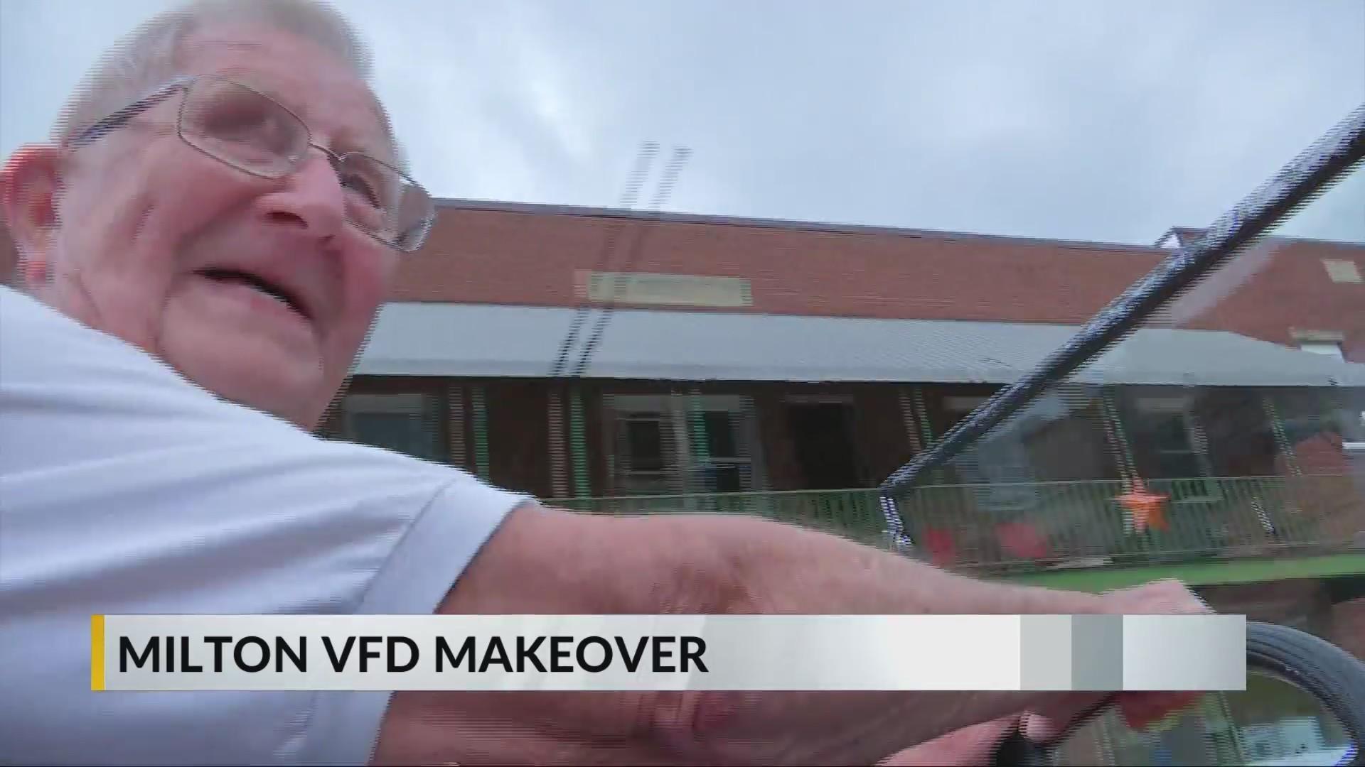 Milton VFD renames station to honor longest serving active member