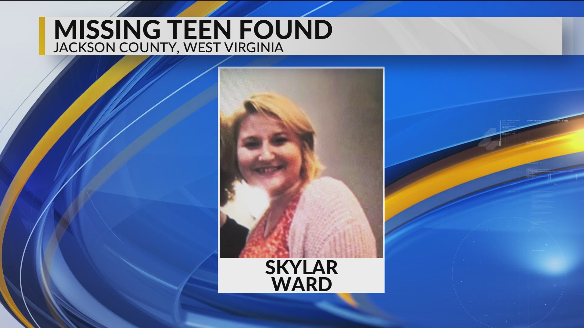 Missing Teenager From Mink Shoals has been Located
