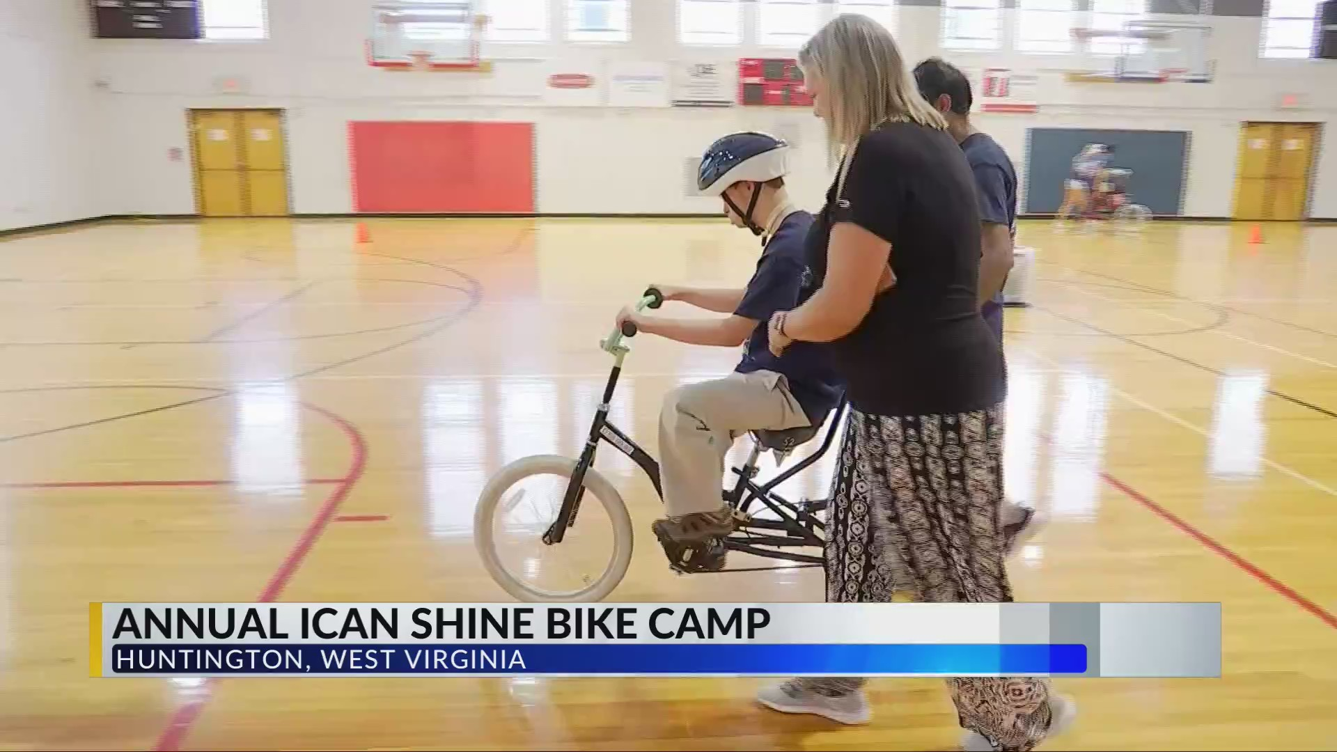 Camp Helps Kids with Disabilities Learn How to Ride a Bike