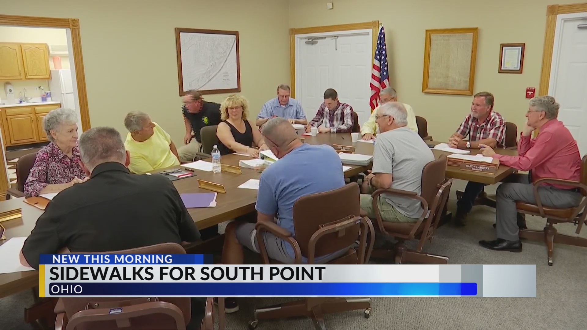 South Point gets funding for sidewalks