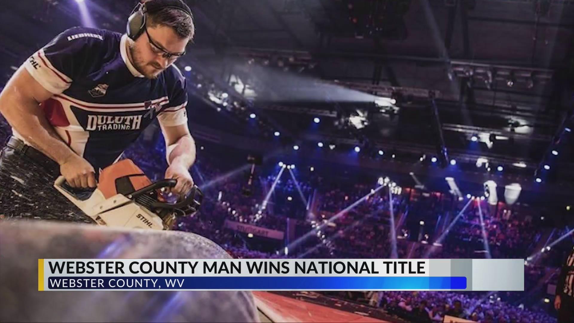 West Virginia Lumberjack Competes Internationally