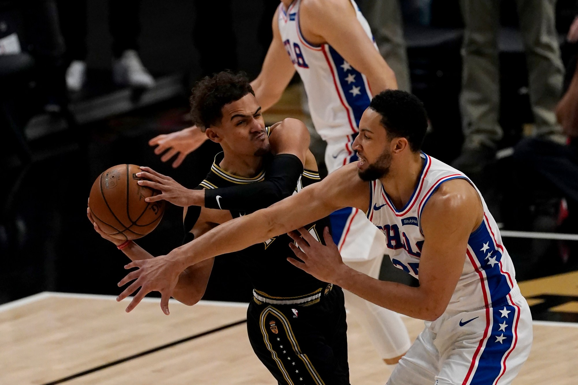 Trae Young, Ben Simmons