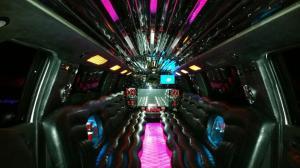 24 passenger escalade limo - pink - photo