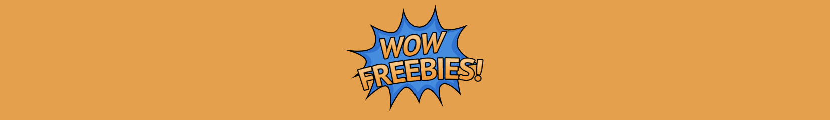 WOW Freebies new design banner