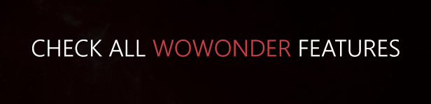 WoWonder - The Ultimate PHP Social Network Platform 12