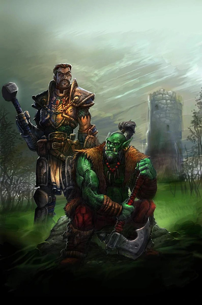 Cover art for Warcraft: Of Blood and Honor