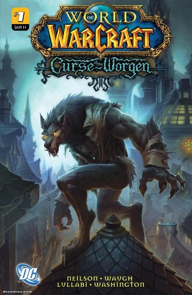 World of Warcraft: Curse of the Worgen issue 1 cover