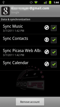 Google Music Sync Works To Cloud On Android 2.3.3