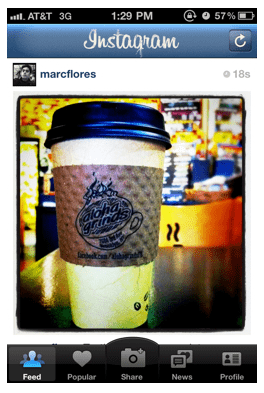 Instagram iPhone App Gets Tilt-Shift Update