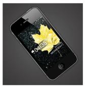 Lock Screen iPhone / iOS device