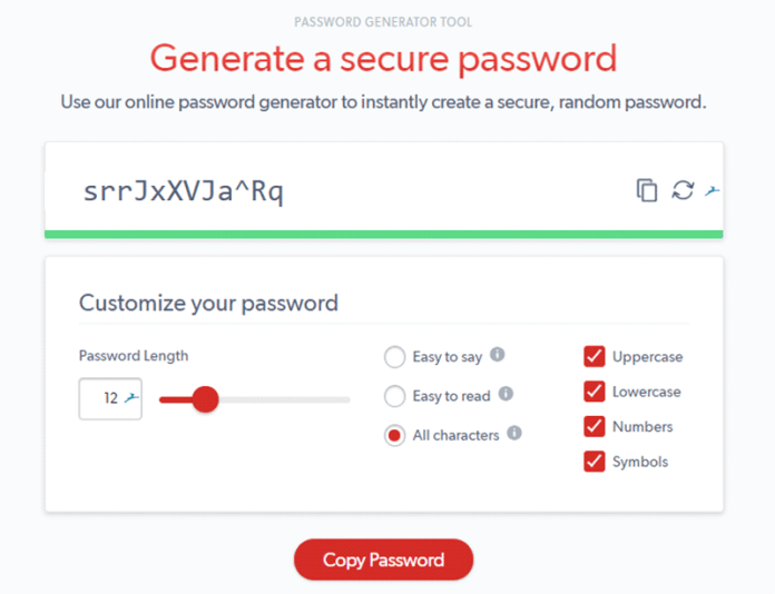 lastpass-password-generator-app