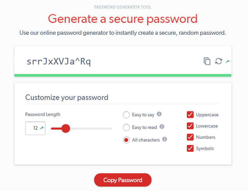 best password generator and manager