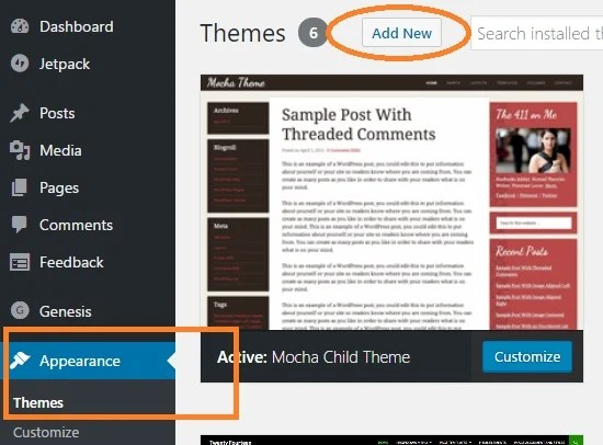 WordPress Child Theme Tutorial - With Pictures - WP Tweaks