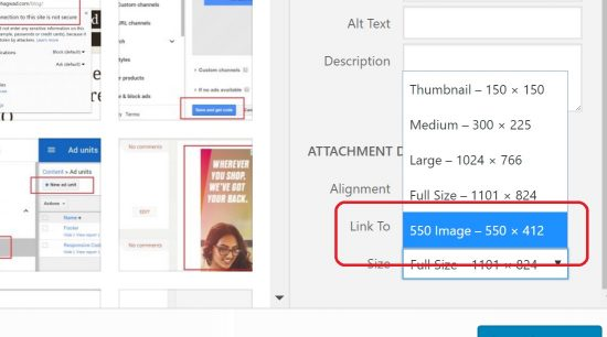 Custom Image Sizes Added to Media Dropdown in WordPress