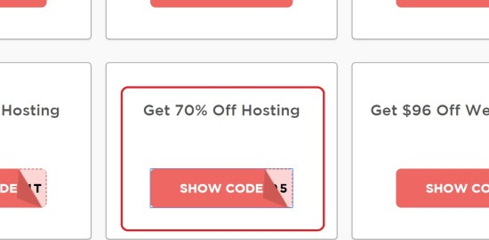 Trick you into clicking a DreamHost coupon code