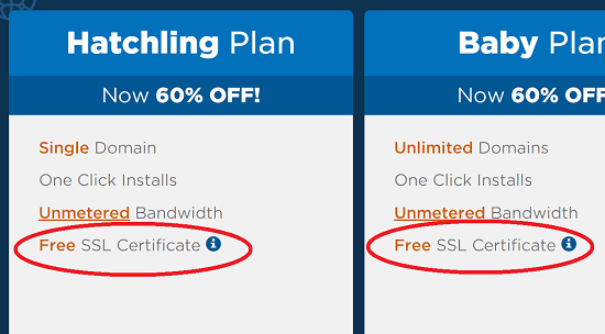 Hostgator Free SSL is Here! GoDaddy Still the Laggard - WP Tweaks
