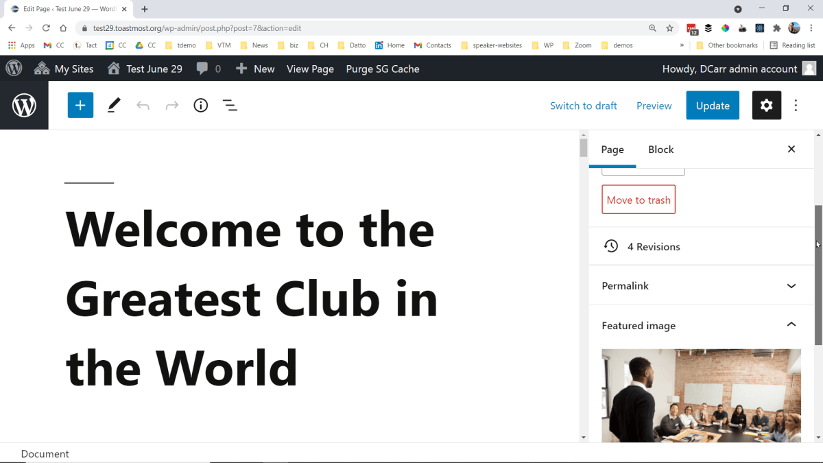 Creating a Toastmost.org Toastmasters Club Website from Scratch: Full Course