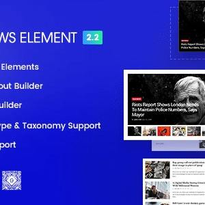 Epic News Elements – News Magazine Blog Element & Blog  – WordPress Plugin